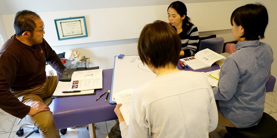 今月のクレニオセラピー塾☆手の感覚を養うために